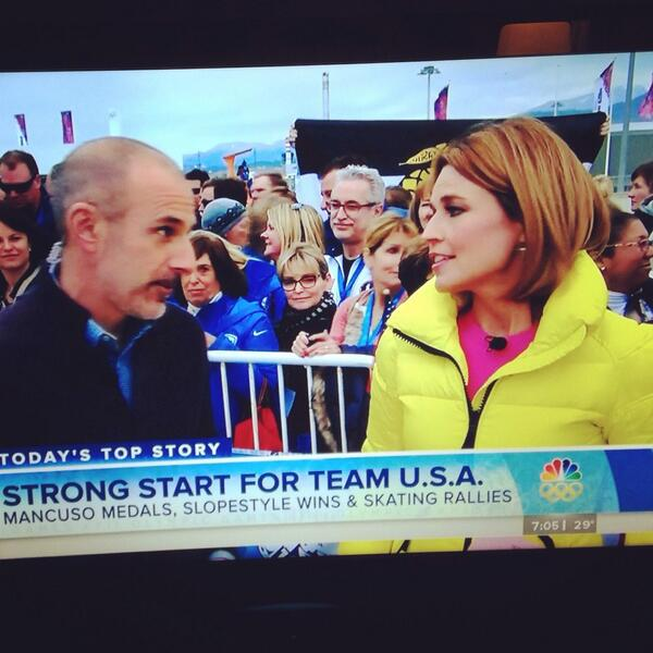 Anyone else catch the Sigma Nu flag on The Today Show broadcast from #Sochi2014 this morning? http://t.co/9YsfAoIVRB