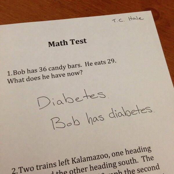 hahaha. Smart kid. http://t.co/4LrxT2Zz4t