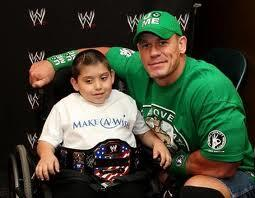 Congrats to @JohnCena for reaching a landmark of 400 wishes granted with @MakeAWish #Cena400Wishes http://t.co/axJORl31za