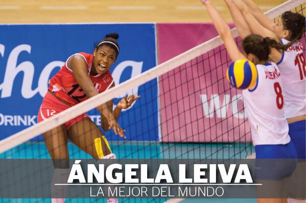 Voleibolista Ángela Leiva es elegida la mejor jugadora del mundo ↠ http://t.co/6lH0Mpp0ED http://t.co/JL93nvYtEY