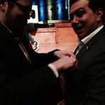 RT @anthonyha: Awww @mjburnsy is helping @panzer get dressed for the #crunchies