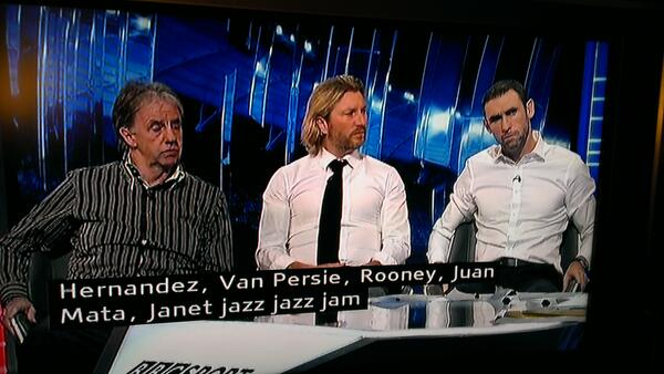 MOTD subtitles operator struggling with Adnan Januzaj's name: http://t.co/X1C0F7wZ7k