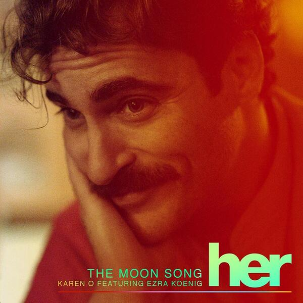 "Karen and @arzE team up for a dreamy duet on the Oscar nominated ""The Moon Song"" from #Her! http://t.co/sSDzgNZITW http://t.co/4ZeAZ01xpe"