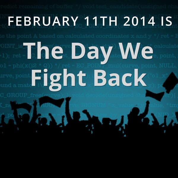 The Internet is rising up in protest against mass surveillance. Will you be taking part? #DayWeFightBack #StopTheNSA http://t.co/ll7s4qjIXn