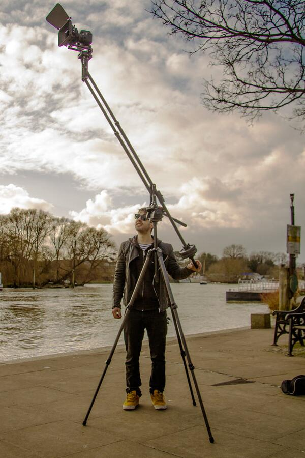 Amazing response to the new Genus Mini Jib designed by James from @DSLRDEVICES  http://t.co/Tib7LoLvVB http://t.co/bt0XCN4WR1