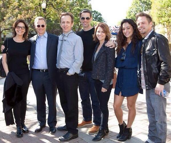Great reuniting w/ CSI: NY friends at Hollywood Salutes Heroes event Gary Sinise created for wounded veteran heroes. http://t.co/XrzNtdpaAc