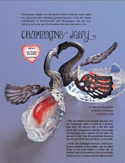 My Champagne jelly recipe from the Vintage Tea Party Year book.. set it in anything!  http://t.co/Ga37C08SvG http://t.co/t6kG1KTXnO