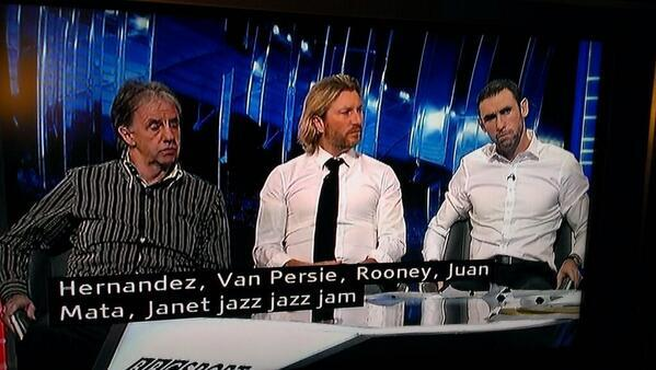 MOTD subtitles operator struggling with Adnan Januzaj's name (via @MrChrisNeilson) http://t.co/YHuF7uukJj