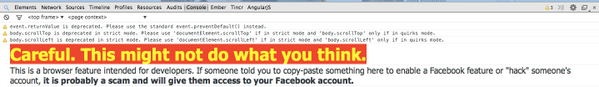 Just opened the developer console on http://t.co/r1OBvjgxA3. It's just cool. :) #facebook #console http://t.co/jkXXZD6kzi