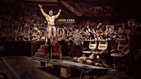 John Cena - Never Give Up! @JohnCena http://t.co/GwPMRU2wnF