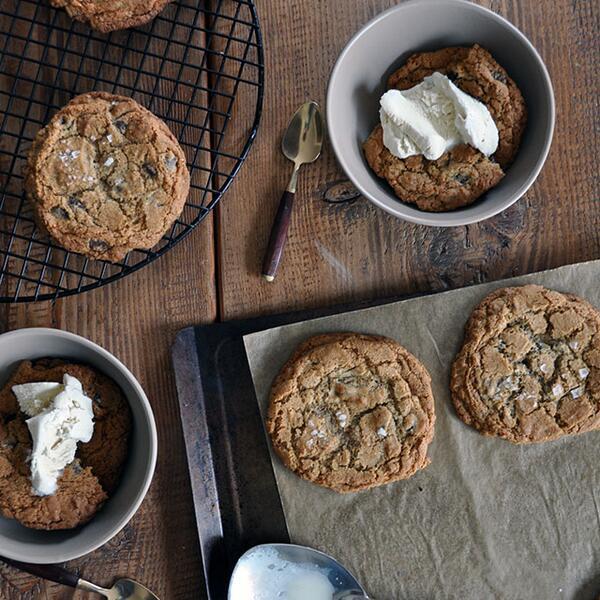 Buckwheat and Sea Salt Cookie Sundaes on @TTableKitchen today. YES: http://t.co/6cbc0VjkTB http://t.co/QotDHKpaXE