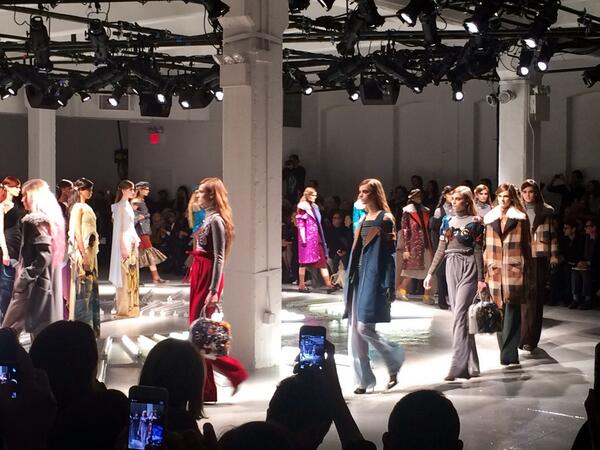 always RADarte. @OfficialRodarte #MBFW http://t.co/Yiob68m1Rk