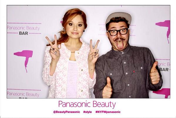 @DebbyRyan nice to meet you! Enjoy the rest of your #NYFW adventures! http://t.co/1ExZRqUqRL