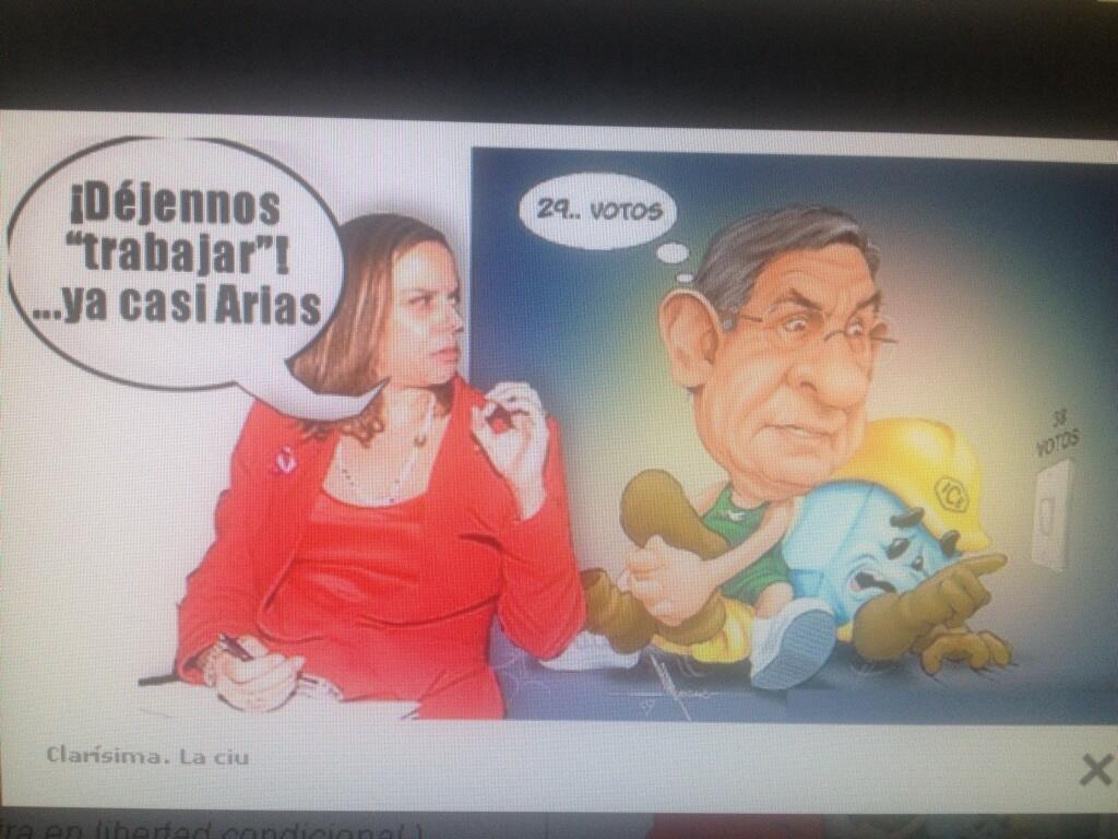 Ana Helena Chacón Vice del PAC otrora personalidad del PUSC y férrea defensora del SI al TLC Recuerdan? http://t.co/oCXqixDpJI
