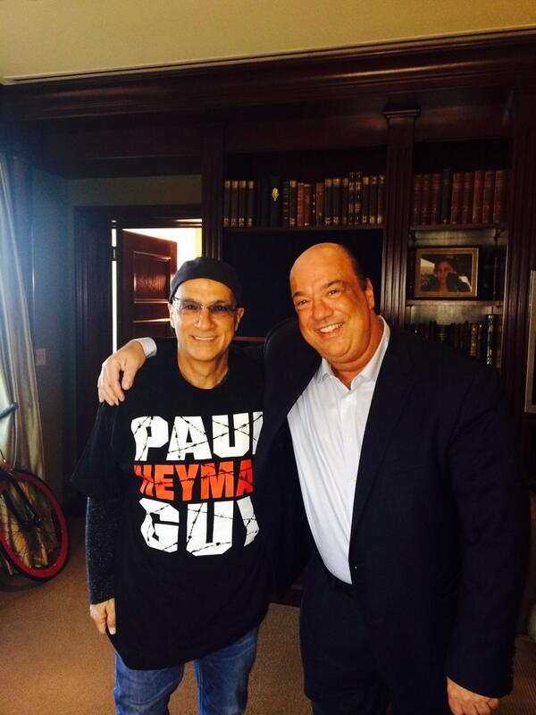 Like father like son. My dad is now a @HeymanHustle guy as well http://t.co/wrl6H0toK5