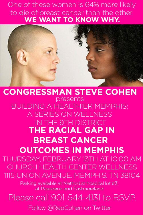 African American women in #Memphis are 64% more likely 2 die of #