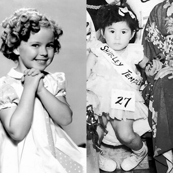 When I was 3, I won a costume competition by being Shirley Temple. Bless you, Shirley! love yoko http://t.co/PmC8ijnseR