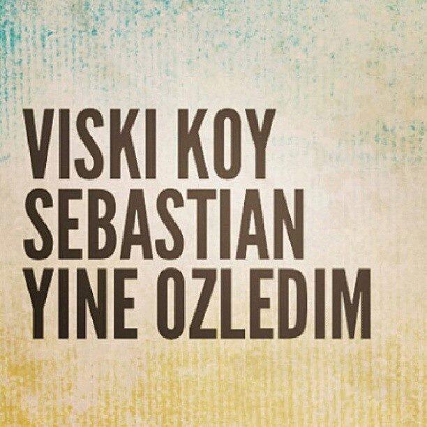 Viski koy sebastian, yine özledim http://t.co/CB4zpYRAot