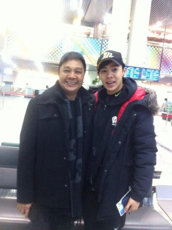 Have a safe & nice flight Son. Enjoy schooling, be a good student, part-time entertainer & full-time worshipper ^^ http://t.co/uqYkcvLZTq