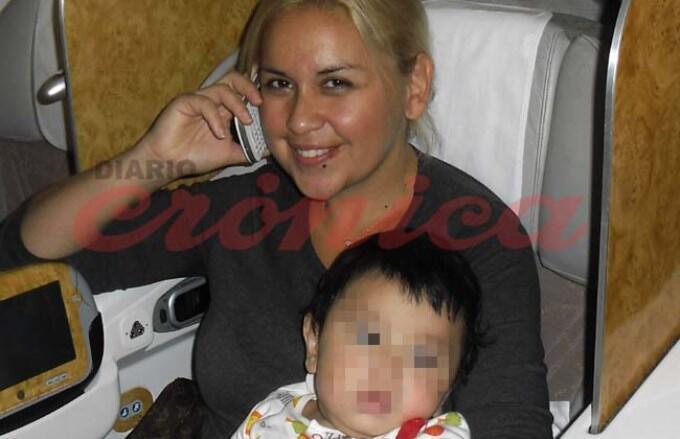 Hoy, en diario @cronicaweb, viajamos con Verónica Ojeda en el avión de regreso al país. Embarazo escandaloso. http://t.co/sorsPR2HOI
