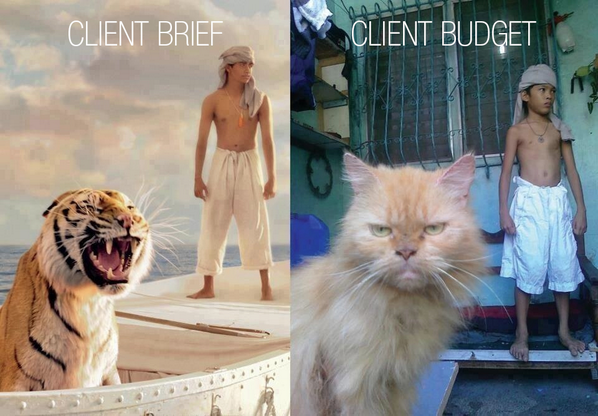 "We think this is pretty spot on ""@marksmccall: #clientbriefclientbudget http://t.co/6LdjSEaOf3"""