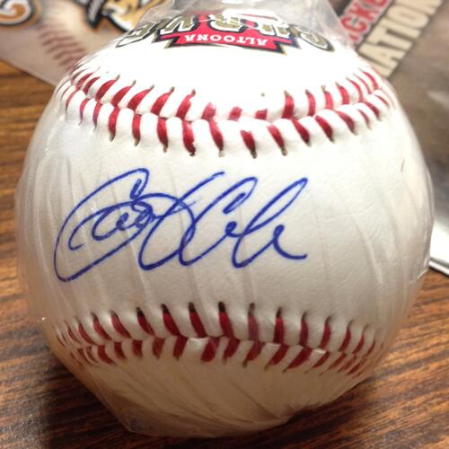 Contest Tweet: RT this tweet & follow to win this Gerrit Cole signed ball. We'll pick 1 random winner at 5 p.m. today http://t.co/4Y2fmKAxAT
