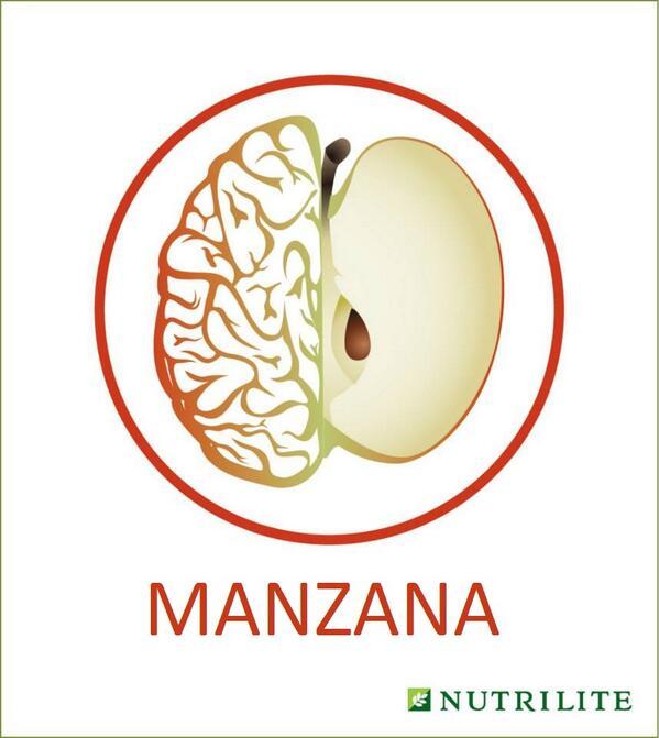RT @NutriliteHealth: ¡Una manzana al día te mantiene alejado del médico y tu cerebro sano! http://t.co/tWDMU4bkkQ