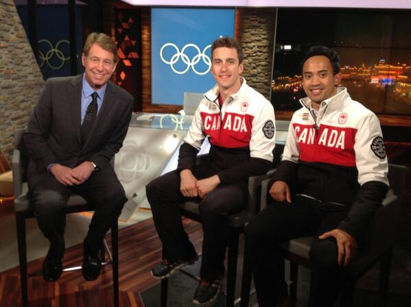 "First thing @Denny_Morrison said..""Let's vote for @cdnhappygilmore for closing Flag Bearer"" @cdnolympicteam http://t.co/daK254yLZ1"