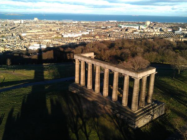 A3. Has to be Calton Hill, amazing views, history and fresh, fresh air! So good and real #EdinHour http://t.co/1Er2L9Wx5L