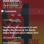RT @gigsplay: The @RollingStones Live in Marina Bay Sands, Singapore! 15 Maret 2014. #StonesSingapore #STONESONFIRE http://t.co/xe9watgOs1