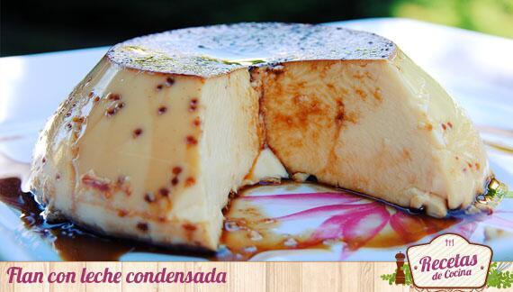 Flan con leche condensada al horno - http://t.co/JPpJTxnsS8 http://t.co/GcJ5DtkNWx