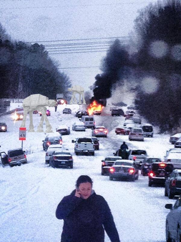 #Raleigh, #Hoth... same thing. http://t.co/s7LGaZSRFs