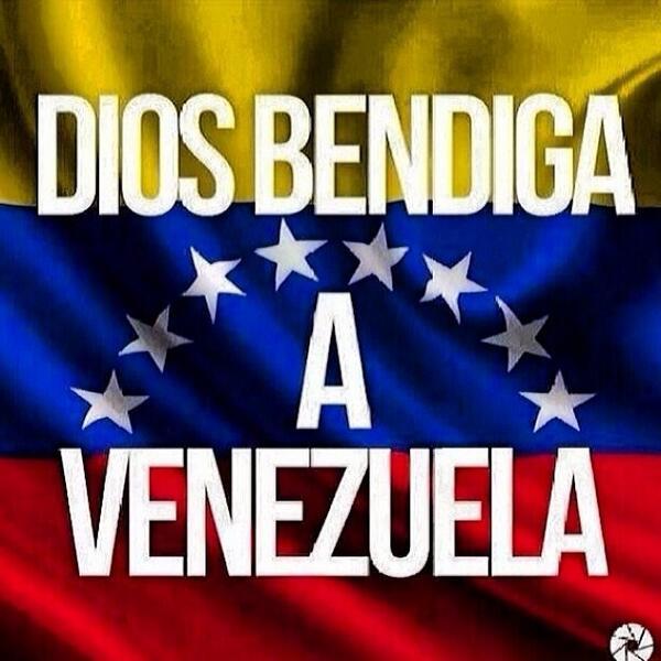Desde #MÉXICO y desde lo más profundo de mi corazón: DIOS Bendiga a #VENEZUELA  ...  http://t.co/IfDbOTefgE