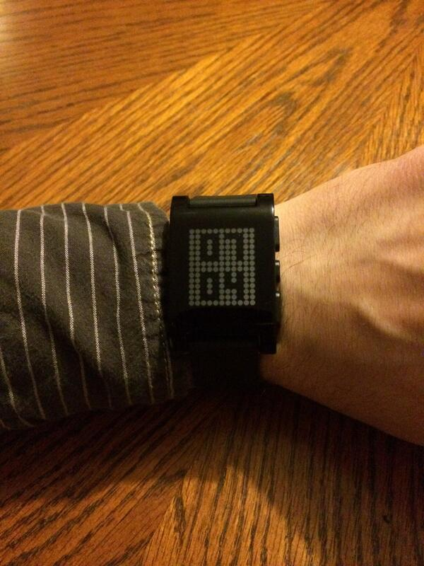 Just had an idea for an app for my new @pebble. Excited to get started. http://t.co/Pj2rUY8Dbe