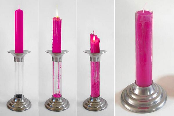 "Smart recycling. ""@FredericJacobs: The regenerative candle http://t.co/G3AfA8ApcY http://t.co/pnbCrOeGr6"""