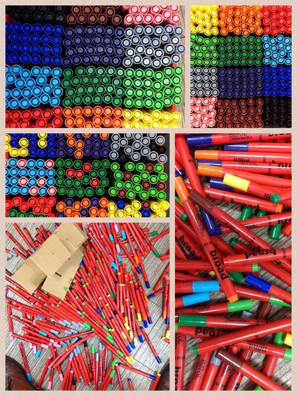 Ordered or disordered? GCSE students get to play with pens and patterns to discover what stresses them out http://t.co/fG0LF7rvKM
