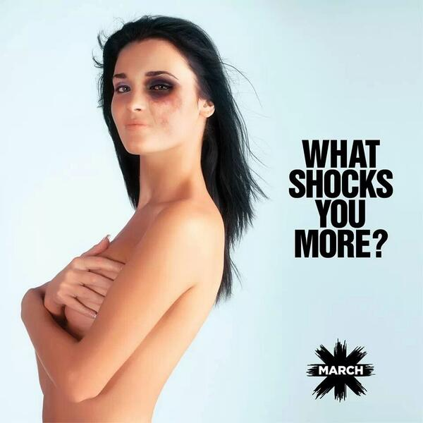 Disgusting that a nipple caused more drama than a man beating his wife to death. @MARCHLEBANON http://t.co/BU8hHRuRwH