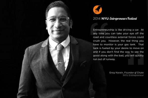 EONY, Day 8 | Meet Greg, Founder of @getchute. #LaunchYourStory & get #NYUEF tickets at http://t.co/Z08BcwMpBn! http://t.co/lfgVlX84ZC