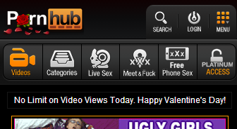 "I-Self Born 7 (@EscoEQUALITY88): Get it in y'all""@Pornhub: NO LIMIT ON VALENTINES! #PornhubMyValentine http://t.co/wJX7nigMtx"""