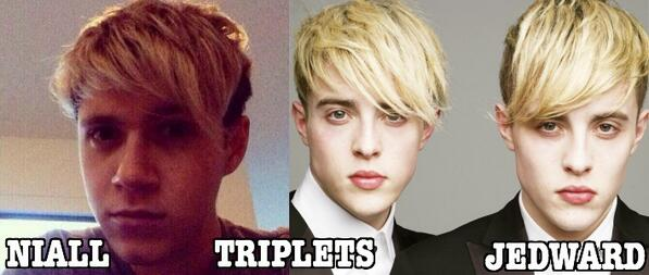 Niall we're officially Triplets! It has to be said! @NiallOfficial Just putting it out there! http://t.co/HwPo0znd8c
