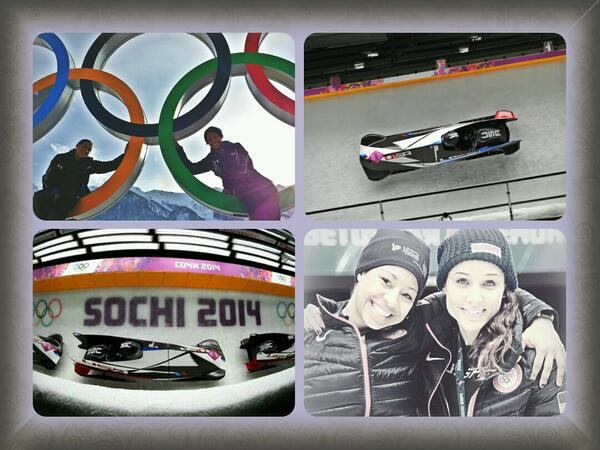 Sochi experience w/ @lolojones.  No matter what we will be winter Olympians and cherish these moments forever! http://t.co/I38gYctg75