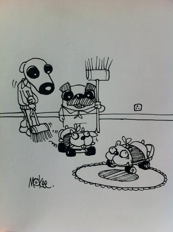 Daily Frank: Frank and Tony try their hand at Hamster Curling http://t.co/drEGFkQyPD