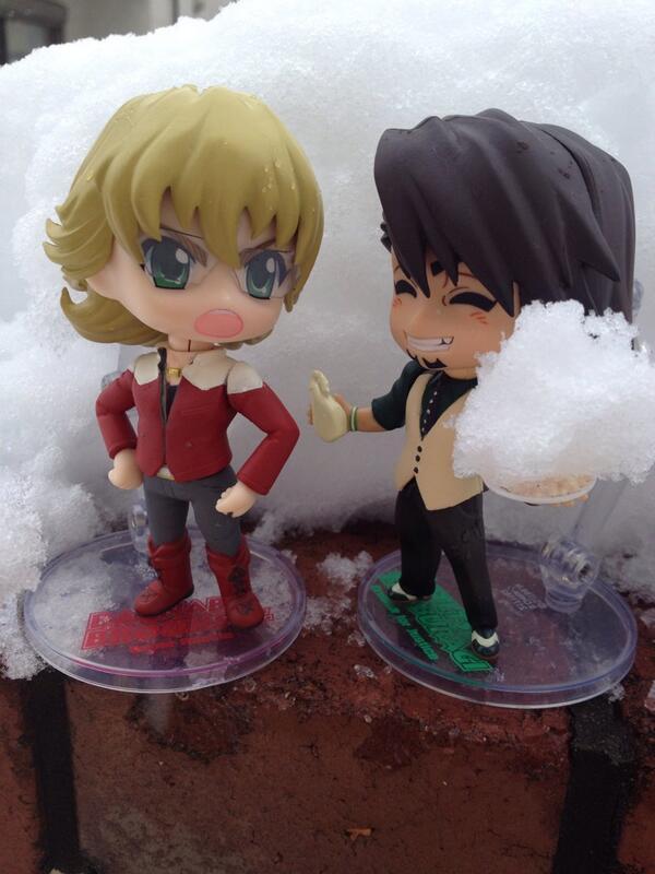 「バニーもマヨかけ雪食べる?」 「いりません( *`ω´)!」 http://t.co/y6ITD1lJAu