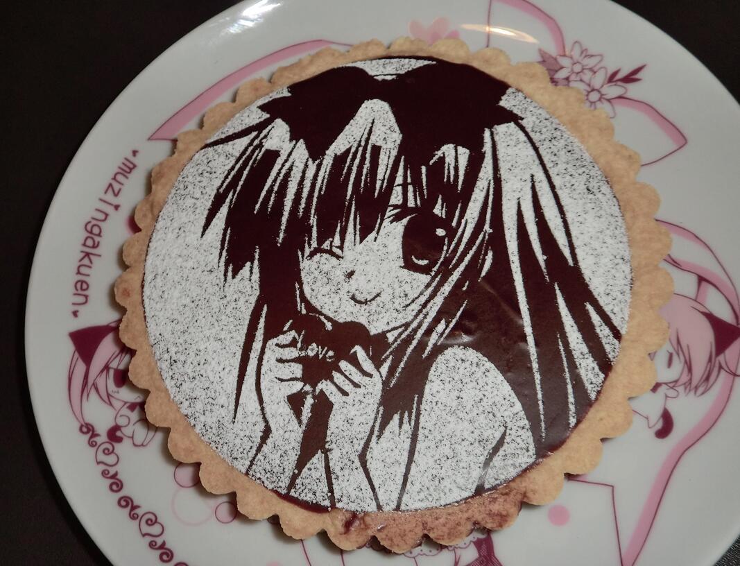 おおー!!すごいΣ(゚ω゚)可愛い!美味しそう!! RT @oto_jun: @riko0202 りせちゃんチョコ作ってみました(・∀・)ノ http://t.co/i6xbn60ZFG