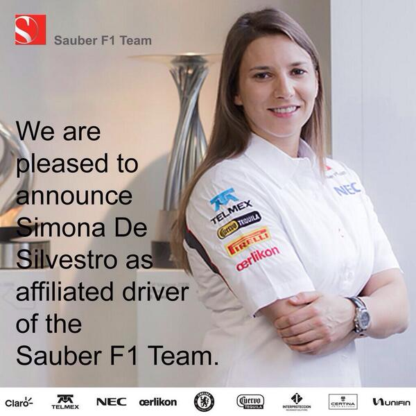 Here it is! I can finally let the cat out of the bag! Excited to be joining @OfficialSF1Team http://t.co/6ViKIiCKrw http://t.co/36F7kgV11Z