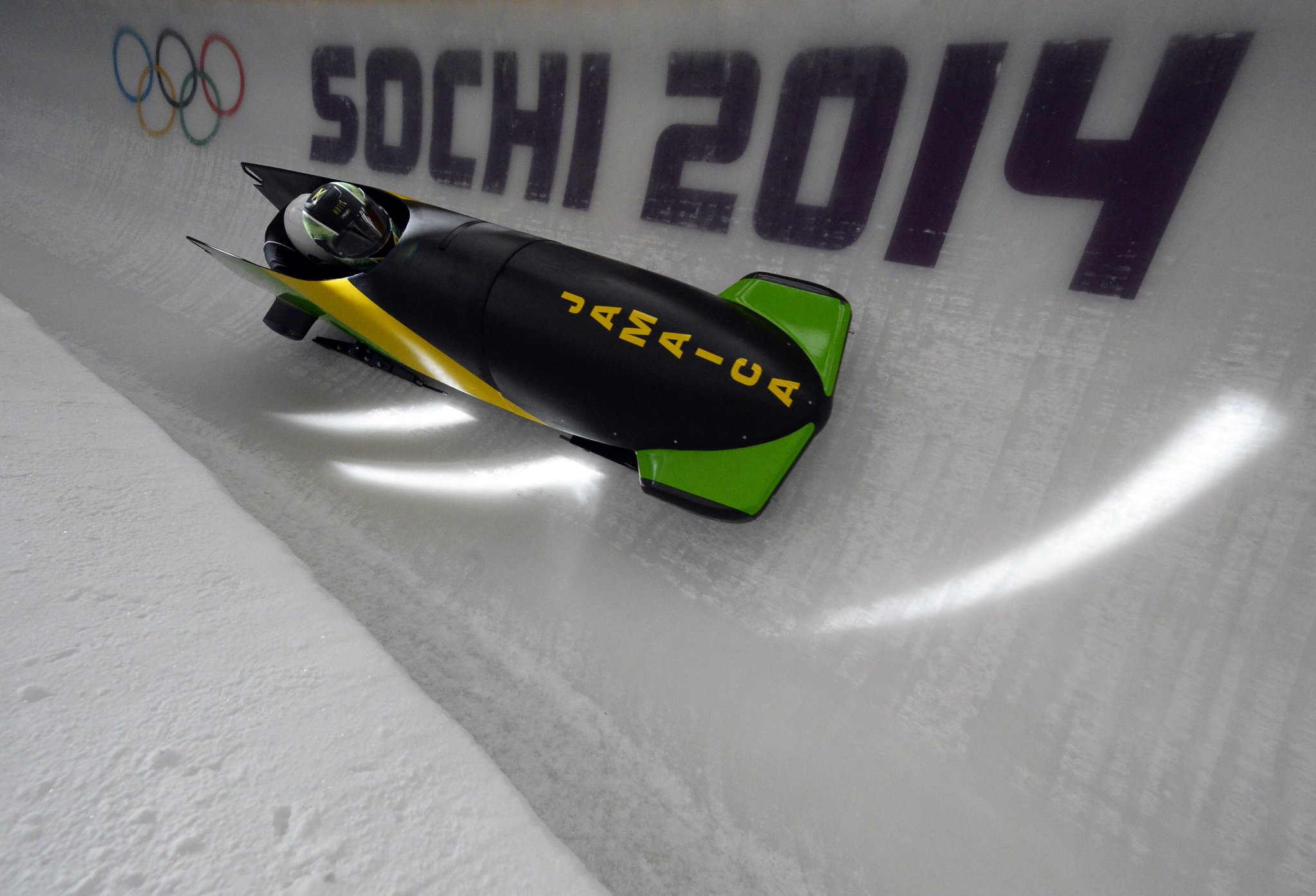 Feel the rhythm, feel the rhyme, get on up, its bobsled time!