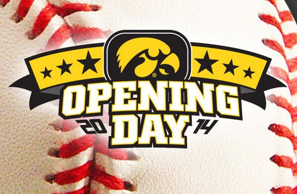 Iowa Baseball (@UIBaseball): It's that time of year for the #Hawkeyes... OPENING DAY!  Iowa plays at Austin Peay at 3:30 p.m. (CT). http://t.co/LU8i3LtXqX