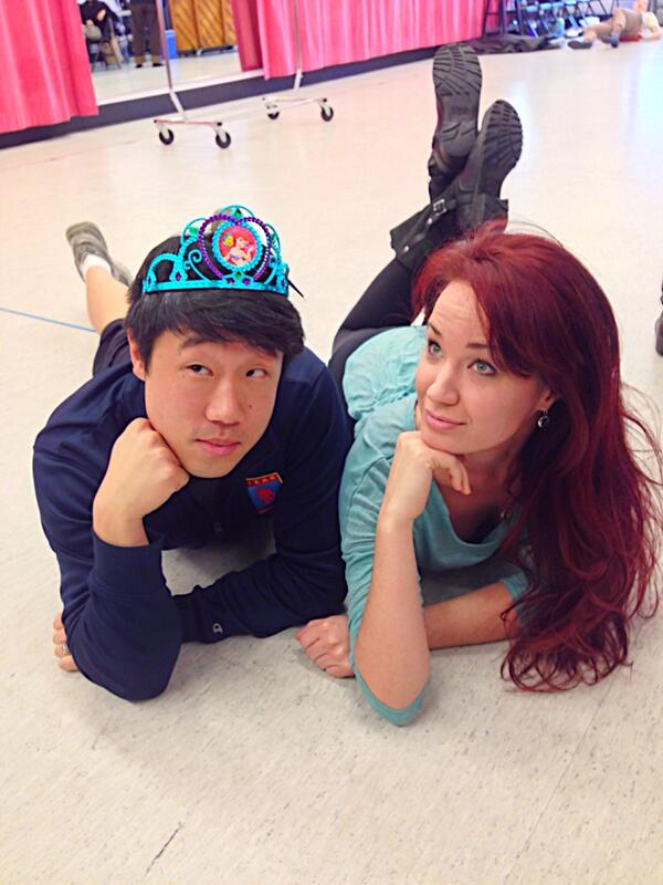 Dreams are coming true today!!! #TheLittleMermaid @sierraboggess #Disney http://t.co/xhT14XwPDI