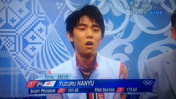 LO ÚLTIMO... HANYU YUZURU obtiene medalla de oro en patinaje artístico en Juegos Olímpicos de Invierno Sochi 2014. http://t.co/BgdMwoW9qM