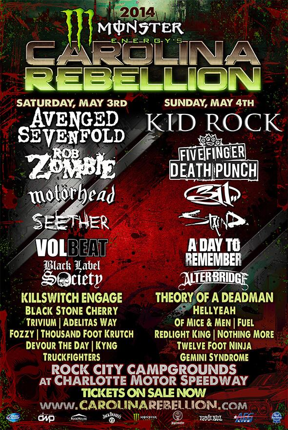 Who is coming to see us w/ @OMandM, @FFDP, @TheOfficialA7X and more at the @MonsterEnergy @crebellion show in #May? http://t.co/Xm95FK9VJw